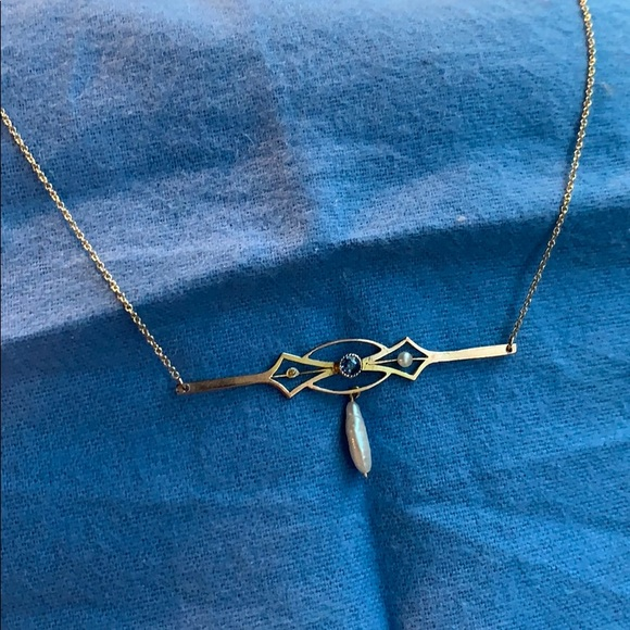 Antique Jewelry - Antique gold necklace